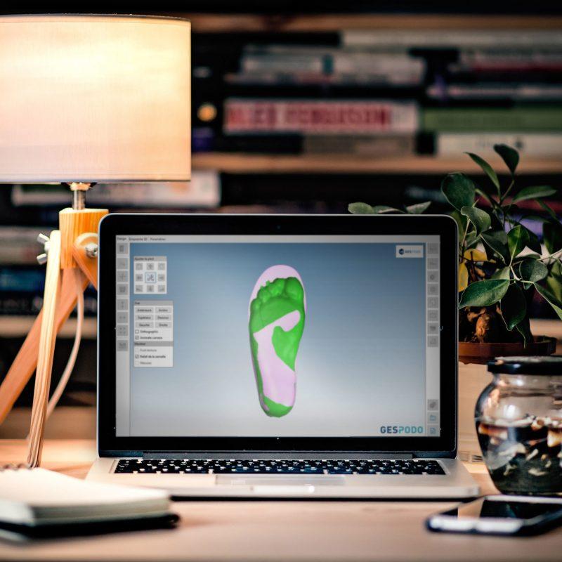 Logiciel FootCAD3D